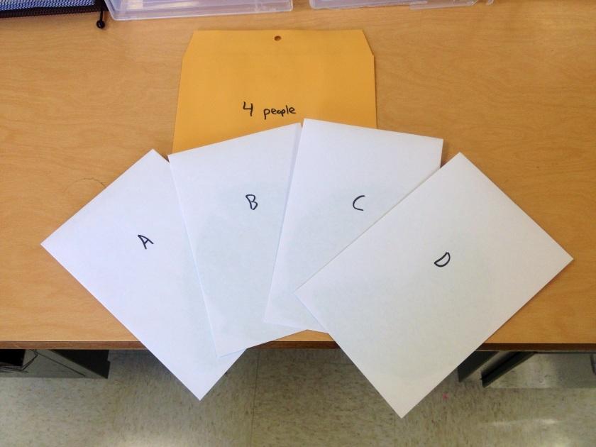 Broken Circles Envelopes