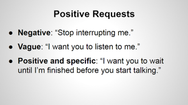Positive requests
