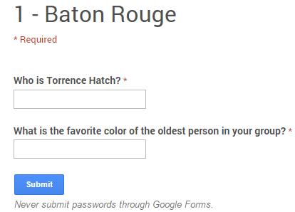 Baton Rouge Form Pic