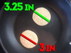 Pancake Height