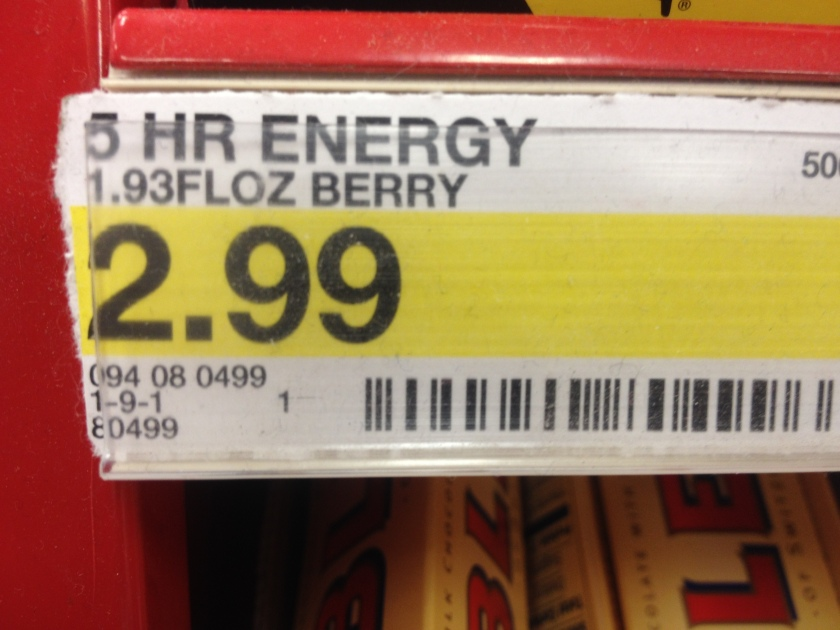 5 Hour Energy Price