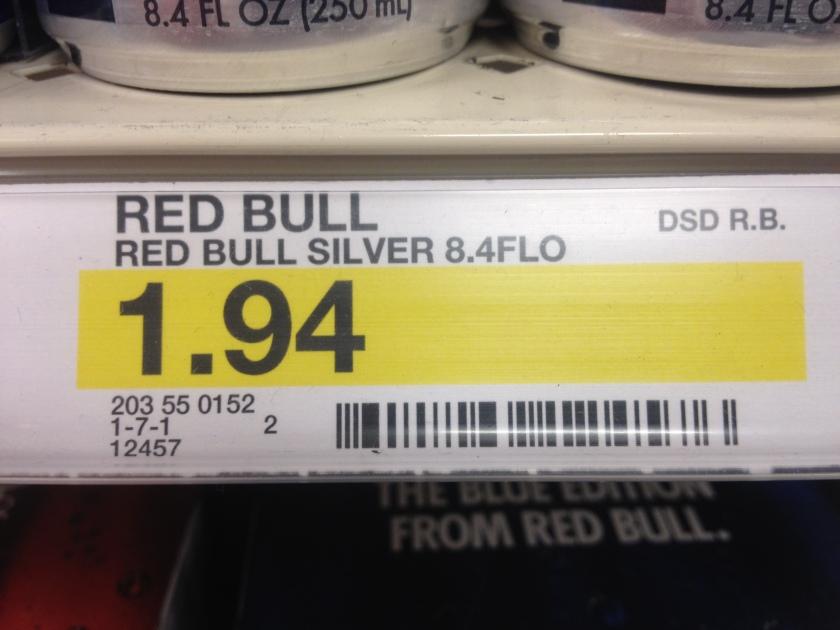 Redbull Price