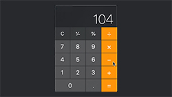 Calculator Countdown Thumb